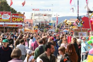 festival at showgrounds in adelaide