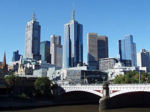 picture of skyline of Melbourne CBD